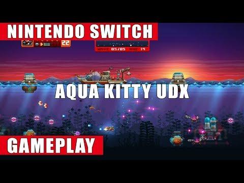 Aqua Kitty UDX Nintendo Switch Gameplay (Classic/Arcade/Dreadnought)