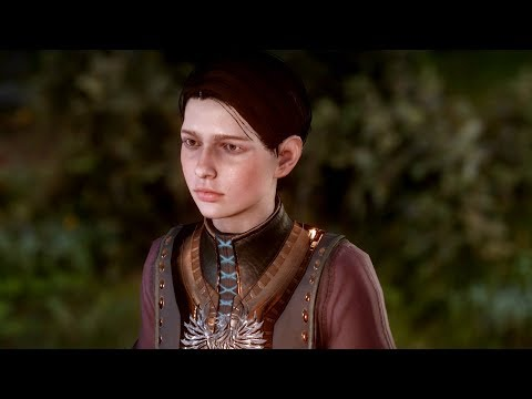 Talking to Kieran (all backgrounds) | Dragon Age: Inquisition