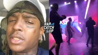 Ski Mask The Slump God Stopped from Performing in San Diego, Fights On Stage