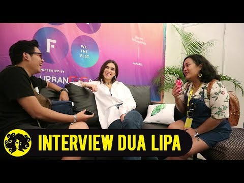 NIGHTSHIFT BACKSTAGE INTERVIEW with DUA LIPA