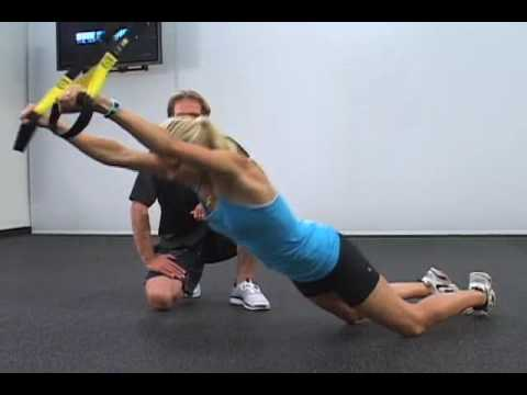 Surf Stronger TRX Workout--TRX Roll Out - YouTube