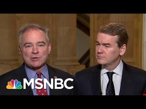 Senators Tim Kaine And Michael Bennet Make Case For A Public Option For ACA | Morning Joe | MSNBC