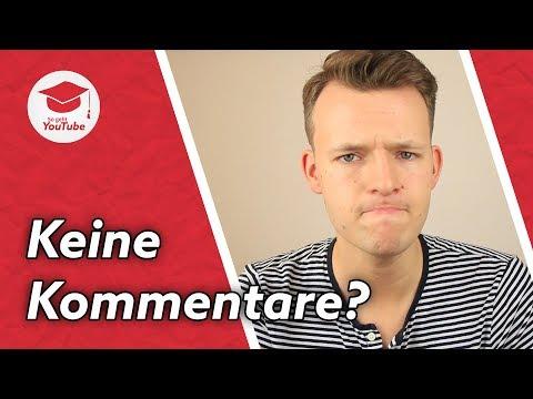Was tun, wenn niemand kommentiert? | #WiegehtYouTube