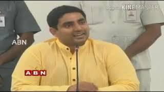 Lokesh Funny comments on ysr