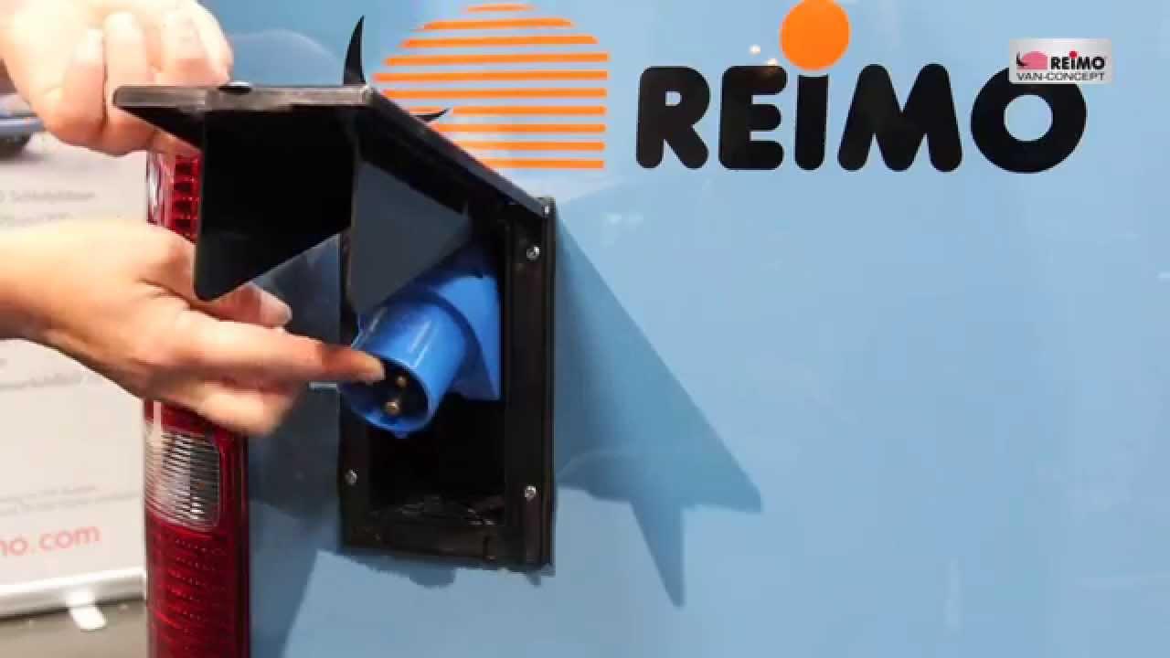 produktvideo reimo maxi minicamper auf vw caddy basis. Black Bedroom Furniture Sets. Home Design Ideas