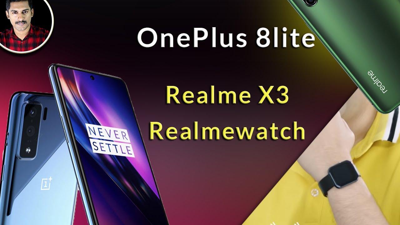 Actualización técnica: -Realme X3 / OnePlus 8 lite teléfono OnePlus más barato / reloj Realme + vídeo