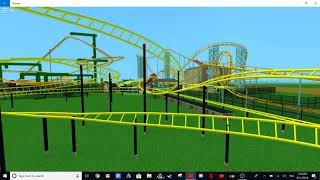 Mick Doohans Motocoaster Roblox Recreation - Dreamworld Australia