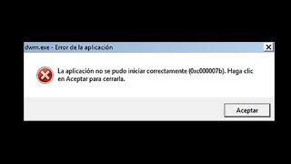 Download La aplicacion no se pudo iniciar error 0xc000007b Mp3 and Videos