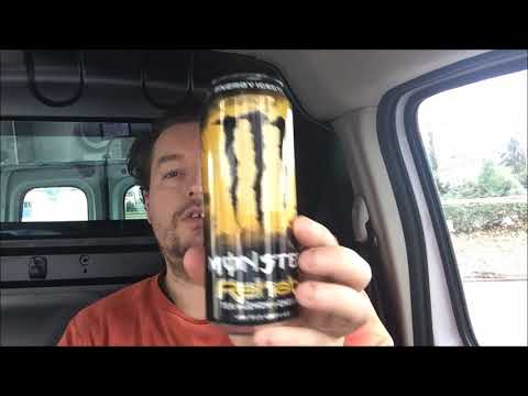 Monster Rehab Tea Lemon Energy Drink