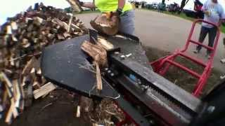 Split Second Log Splitter - The Operator View