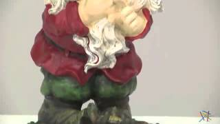 Laughing Garden Gnome Statue - Product Review Video