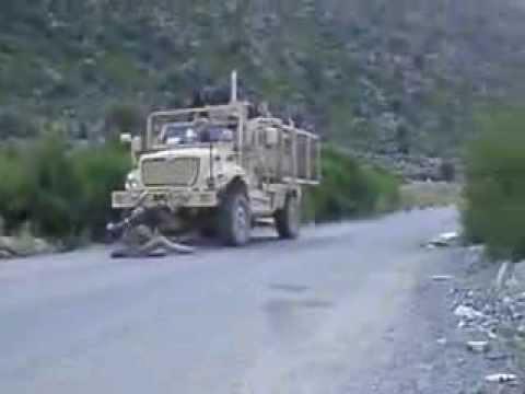 Javelin Strike on Taliban DSHKA position, Kunar Province