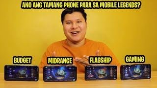 ANG PINAKASWAK NA PHONE PARA SA MOBILE LEGENDS
