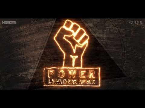 Hardwell & KSHMR - Power ( Lowriderz Remix ) Official Videoclip