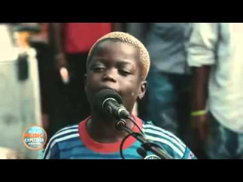 #Congo RDC - Du talent à l'état brut.  Bravo au jeune Espoir