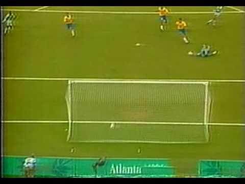 44f98173dfefb Melhores Momentos Brasil 3x4 Nigéria Olimpiadas 96 Globo - YouTube
