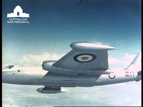 Film Collection Online: RAAF PR - The Canberra bomber in peace and war