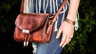 Simple Leather Bag | Leatherworking