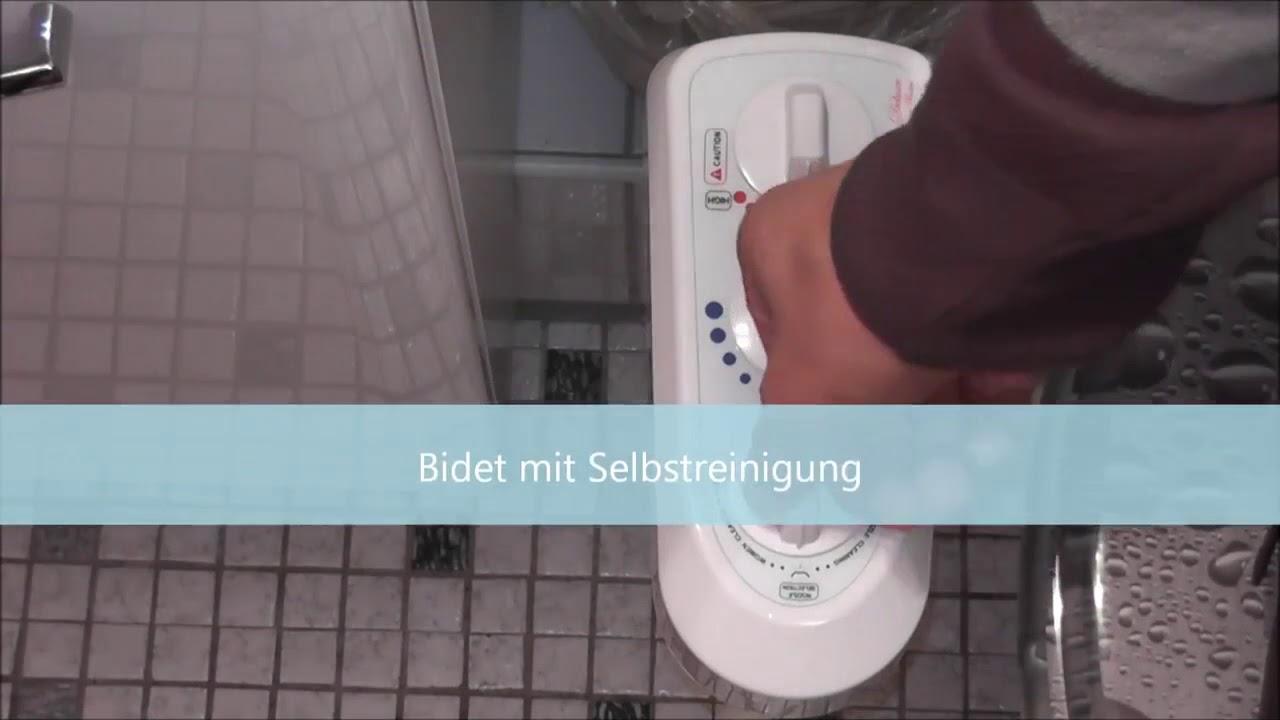 Bisbro Deluxe Comfort Bidet Youtube