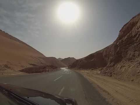 Taklamakan Desert, Xinjiang Uyghur Autonomous Region, China