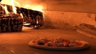Downtown Disney Naples Pizza Recipe  - Neapolitan Pizza Margherita - Wood Fired Pizza