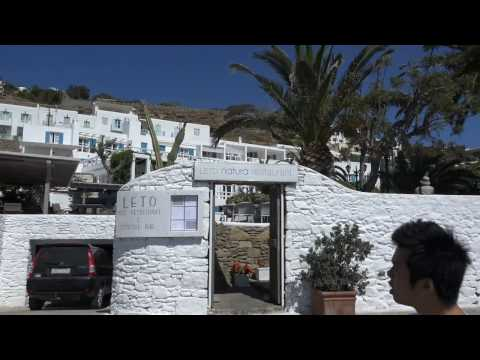 Mykonos Ultra HD 4k Greece Costa Mediterranea UHD SONY 4k