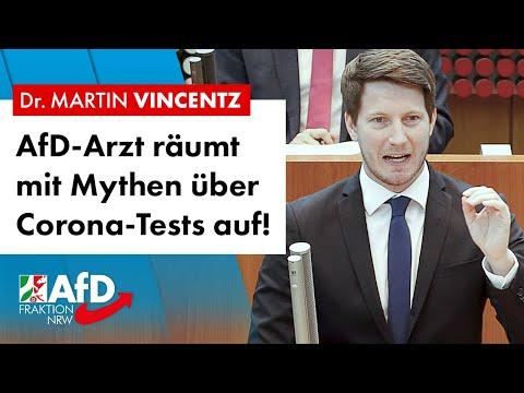 AfD-Arzt räumt mit Mythen über Corona-Tests auf! – Dr. Martin Vincentz (AfD)
