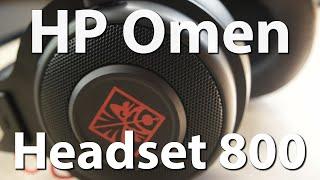HP Omen Headset 800 - HPs Gaming Headset im ausführlichen Test