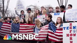 New Poll: Highest Level Of Support For Gun Control Ever | All In | MSNBC