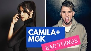 camila cabello drops new song bad things w mgk