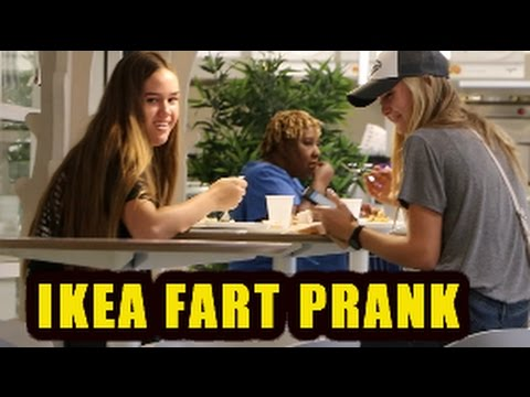 WET FART PRANK IN IKEA WITH THE SHARTER