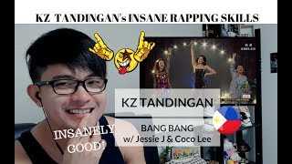 [REACTION] INSANE Rapping Skills of KZ TANDINGAN with JESSIE J & COCO LEE - BANG BANG | Singer 2018