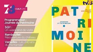 """7/8 Culture – Edition spéciale """"Journées du Patrimoine"""""""