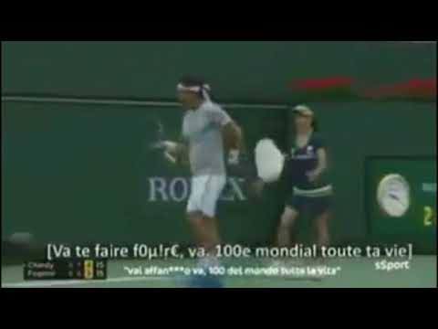 Fabio Fognini insulte Jérémy Chardy à Indian Wells ! [10/03/2018]