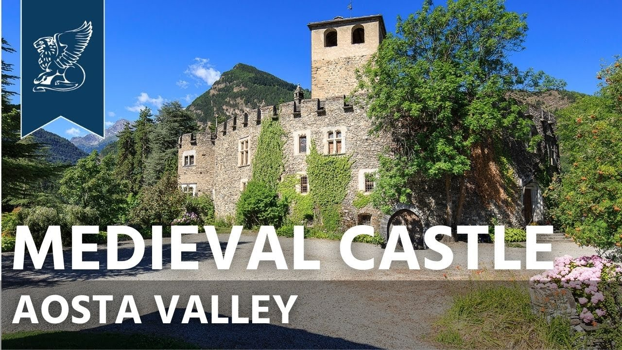 Spectacular Medieval Castle For Sale In Aosta Valley Valle D Aosta Italy Ref 3222