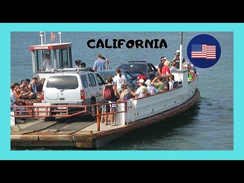The Graphic Balboa Island Ferry At Newport Beach California Usa