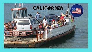 Balboa Island 🛥️ and the iconic ferry boat at Newport Beach (California, USA)