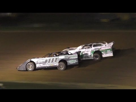 Crate Late Model Heat Two | McKean County Raceway | Fall Classic | 10-14-16