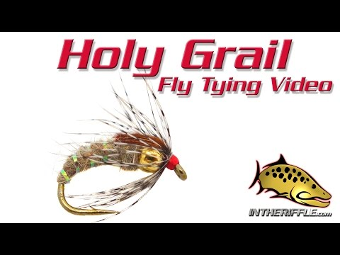 Holy Grail Caddis - Fly Tying Video Instructions