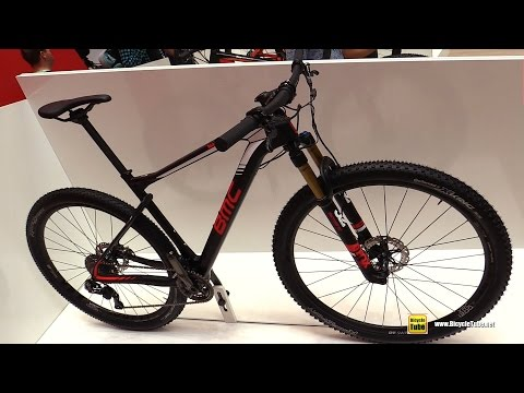 2017 BMC TeamElite 01 Cross Country Series Mountain Bike - Walkaround - 2016 Eurobike