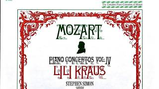 Mozart - Piano Concertos 9 Jeunehomme,15,16,1,2,3,4,5,6,8 (Century's recording : Lili Kraus/Simon)