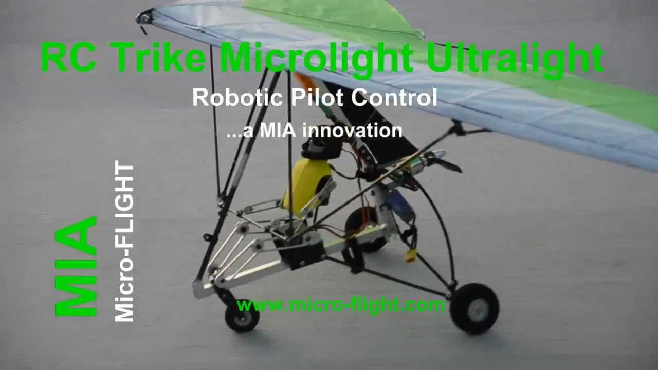 RC Microlight - Real Weight-Shift