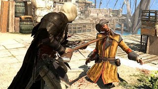 Assassin's Creed 4 Pirate Cloak Outfit Free Roam & Rampage Maxed Settings