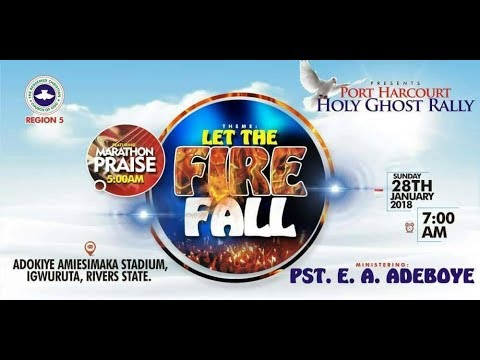 PORT HARCOURT HOLY GHOST RALLY 2018
