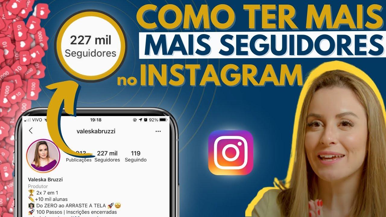 Download Método infalível para ter mais seguidores HOJE no Instagram