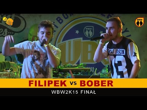 FILIPEK vs BOBER 🎤 WBW 2015 🎤 Finał XIII Edycji # Freestyle Battle