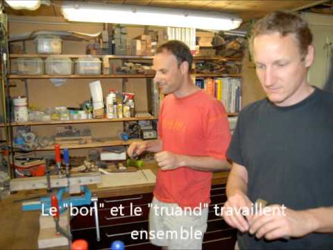 couteau 40 ans Wilfried philippe plus Meihni