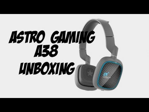 astro a38 wireless bluetooth headset unboxing youtube. Black Bedroom Furniture Sets. Home Design Ideas