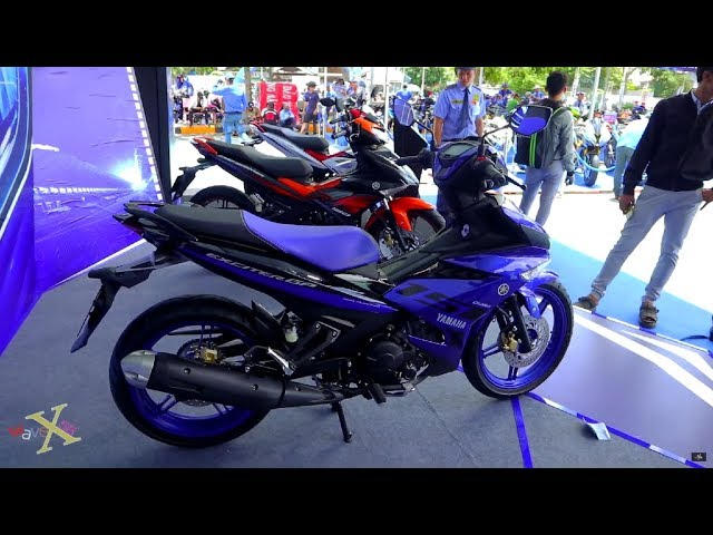 Yamaha Exciter 150 Xanh GP 2019 - Yamaha MX King 150 Blue GP 2019 - Walkaround