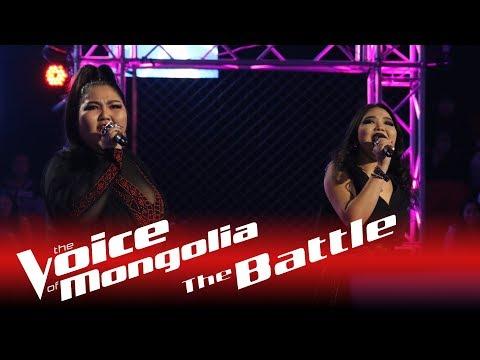 "Maralgoo vs. Zaya  - ""Black Widow"" - The Battle - The Voice of Mongolia 2018"
